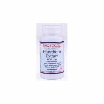 Protocol For Life Balance Hawthorn Extract 600 mg 60 vcaps