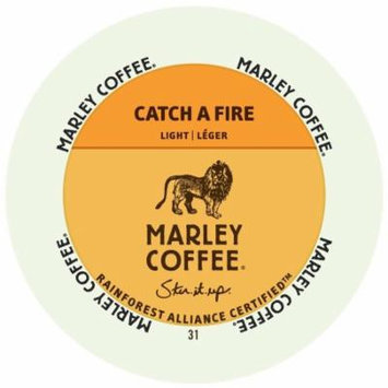 Marley Coffee Catch A Fire, RealCup Portion Pack For Keurig Brewers, 48 Count