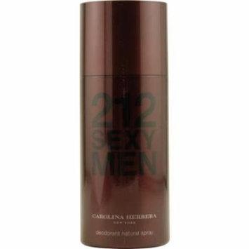 212 Sexy Carolina Herrera 5 oz Deodorant Spray Men