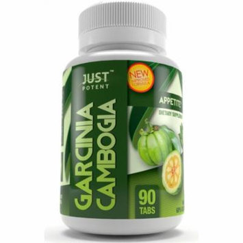 Just Potent High Grade Garcinia Cambogia Extract :: 3000mg Per Serving :: 90 Tablets :: Appetite Suppression