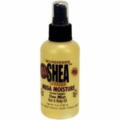 Wonder Gro Shea Butter Hair Mist 4 oz. (Pack of 6)