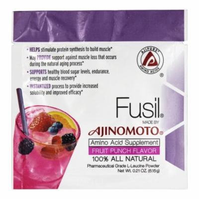 AjiPure - Fusil 100% All Natural Amino Acid Supplement Fruit Punch Flavor - 0.21 oz.