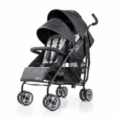 3D Two Double Convenience Stroller