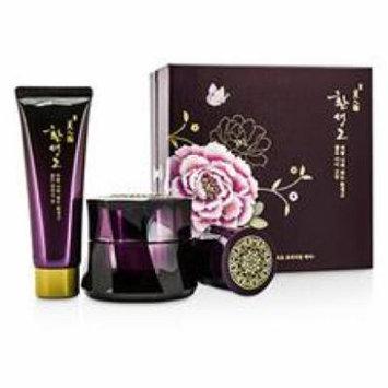 The Face Shop Myeonghan Miindo Hwansaenggo Gold Eye Cream Set: Gold Eye Cream 25ml + Gold Cleansing Foam 40ml + Gold Cre