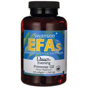 Swanson Evening Primrose Oil (Omegatru) 1,300 mg 100 Sgels