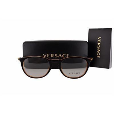 Versace VE3227 Eyeglasses 51-20-140 Black Orange 138 VE 3227