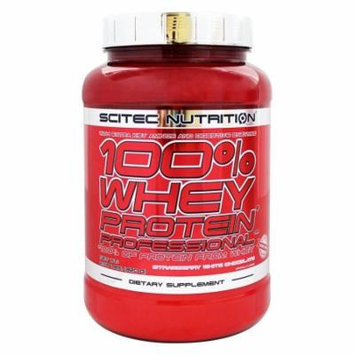 Scitec Nutrition - 100% Whey Protein Professional Strawberry White Chocolate - 2.03 lbs.