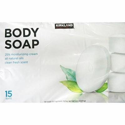 Kirkland Signature Body Soap, Pack of 15