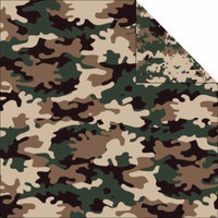 Camouflaged Double-Sided Cardstock 12