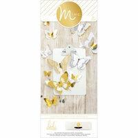 Minc 3-D Paper Butterflies 32/Pkg-