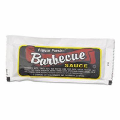 Flavor Fresh Condiment Packets, BBQ Sauce, 12 g Packets, 200/Box
