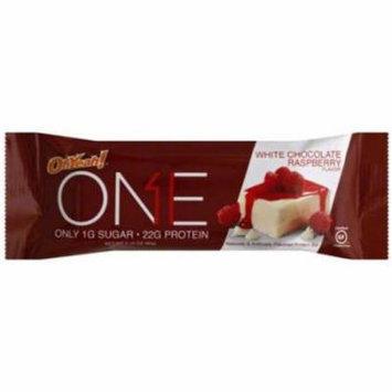 Oh Yeah! White Chocolate Raspberry Bar, 60g, (Pack of 12)