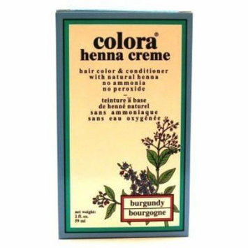 Colora Henna Creme Burgundy 2 oz. (Case of 6)