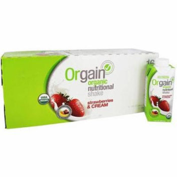 Orgain, Shake 4Pk Protein Strawberry Cre, 44 FO (Pack of 3)