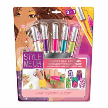 Style Me Up Perfect Nail Art Pens Set, Multi-colored