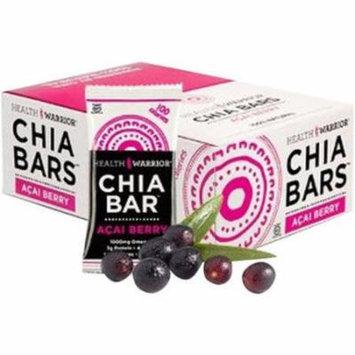 Health Warrior Acai Berry Chia Bar, 0.88 oz, (Pack of 15)