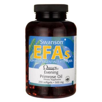 Swanson Evening Primrose Oil (Omegatru) 500 mg 250 Sgels