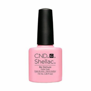 CND Shellac Nail Polish - Be Demure