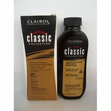 Clairol Professional Classic Collection Permanent Haircolor - 9N / 89N - Classic Very Light Neutral