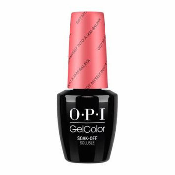 Opi Gelcolor Collection Nail Gel Lacquer, 0.5 Fluid Ounce - GOT MYSELF INTO A JAM-BALAYA
