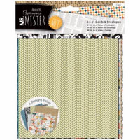 Papermania Mr. Mister Cards W/Envelopes 6