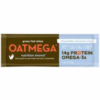 Oatmega Chocolate Coconut Crisp Bar, 50g (Pack of 12)