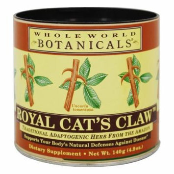 Whole World Botanicals - Royal Cat's Claw Tea Immune Support - 4.9 oz.