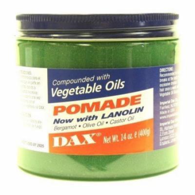 Dax Pomade (Bergamot) 14 oz. Jar (3-Pack) with Free Nail File
