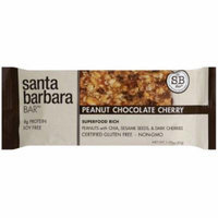 Santa Barbara Peanut Chocolate Cherry Bar, 1.58 oz., (Pack of 12)