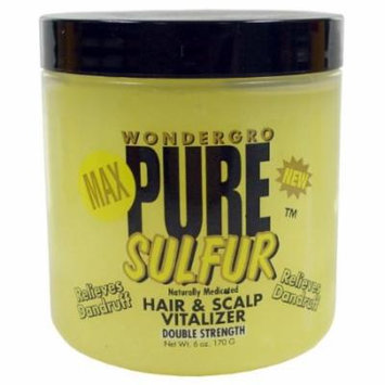 Wonder Gro Pure Sulfer Hairdress 6 oz.