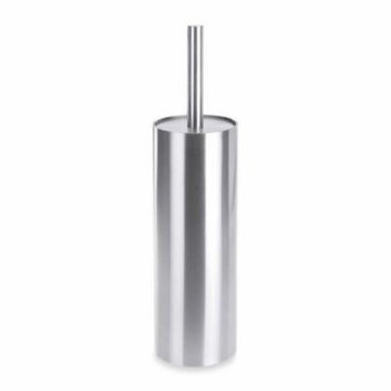 Zack 40184 CYLINDRO toilet-brush set h. 11. 03 inch Stainless Steel