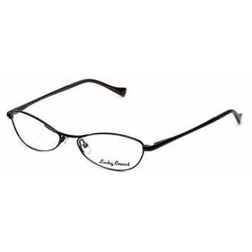 Lucky Brand Fiona Designer Eyeglasses in Navy/Grey 52mm DEMO LENS