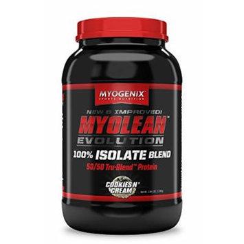 Myogenix Myolean Evolution Isolate Powder, Cookies & Cream, 2.84 Pound