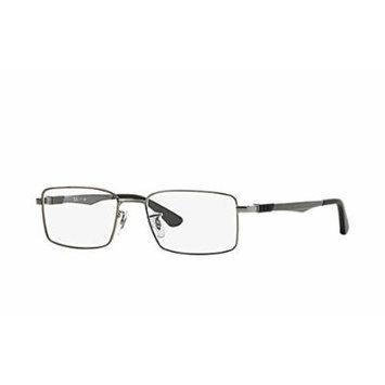 Ray-Ban RX 6275 Eyeglasses Gunmetal 52mm & Cleaning Kit Bundle