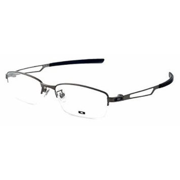 Oakley RX Designer Optical Eyeglasses Halftrack OX3137-0354 in Pewter DEMO LENS