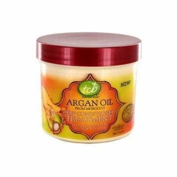 TCB Naturals Argan Oil Deep Conditioner Treatment 12 oz. (Pack of 6)