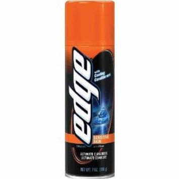 Edge Advanced Shaving Gel Sensitive Skin 7 oz. (Pack of 6)