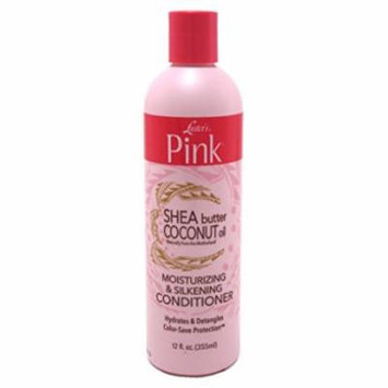 Lusters Pink Shea Butter Coconut Oil Conditioner 12oz (2 Pack)