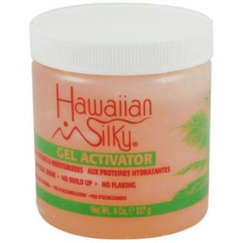Hawaiian Silky Gel Activator 8 oz. (Pack of 2)