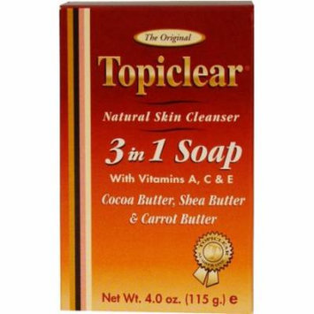 Topiclear Gold 3-In-1 Soap 4 oz. (Pack of 2)
