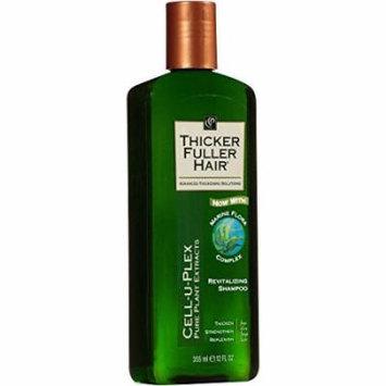 Thicker Fuller Hair Revitalizing Shampoo 12 fl oz Pack of (2)