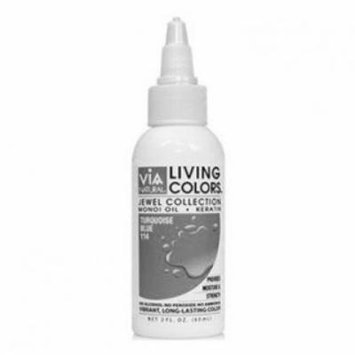 Via Living Color Hair Collection Color - #044 Platinum 2 oz. (Pack of 2)