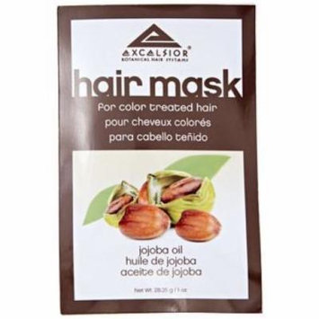 Excelsior Jojoba Oil Hair Mask Packette .10 oz. (Pack of 6)