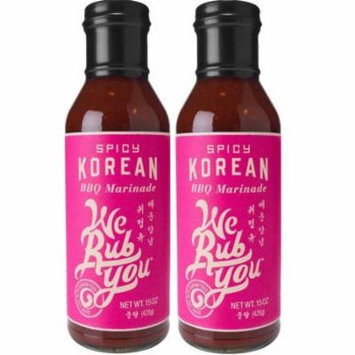 We Rub You- Spicy Korean BBQ Marinade, 2 Pack