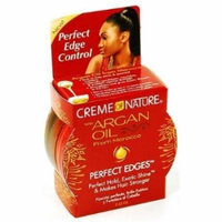 Creme of Nature Argan Oil Perfect Edges Control 2.25 oz. Jar (3 Pack) by Creme of Nature