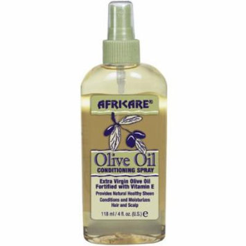 Africare Olive Oil Conditioner Spray 4 oz. (Pack of 2)