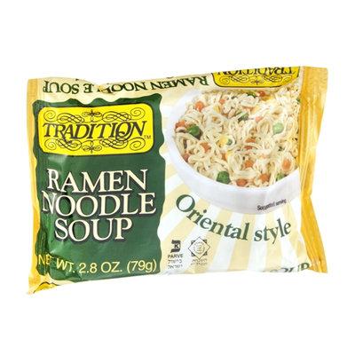 Tradition Ramen Noodle Soup Oriental Style
