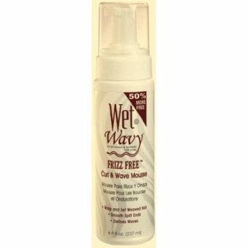 Wet-N-Wavy Curl Foam Mousse 8 oz. (Pack of 6)