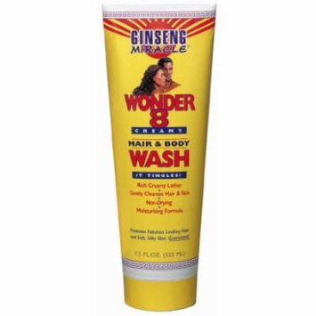 Ginseng Miracle Wonder 8 Hair & Body Wash 8 oz. (Pack of 2)