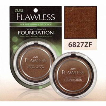 Zuri Flawless Cream to Powder Foundation - Suede (Pack of 4)
